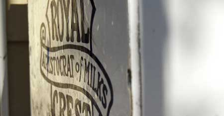 """Royal Crest Milk Box"""