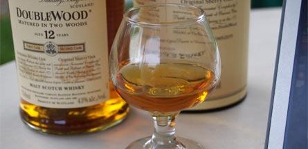 """The Balvenie DoubleWood 12 year old scotch."""